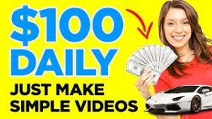 Earn Making Simple Videos